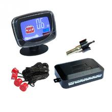 12V Car LCD Display Parking Sensor LCD 4 Reverse Parking Sensors Backup Radar Car Detector System Kit(China)