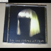 BINYEAE- new CD seal: Sia 1000 Forms of Fear CD light disk [free shipping](China)
