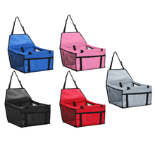 Dog Carrier Dog Car Seat Oxford Cloth Bag Folding Safe Travel Carrying Bag for Dog Cat Breathable Kennel Puppy Handbag(China)