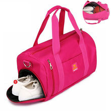 5 Color Waterproof Sport Bag For Women Men Gym Fitness Yoga Travel Bags Shoes Storage Shoulder Big Bag For Male Sac De Sport