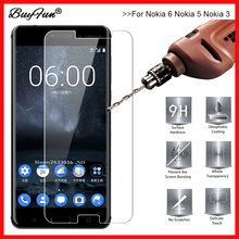 9 H 2.5D Premiun Tempered Glass for Nokia 6 5 3 Phone Cover Screen Protective Film Guard Skin for Nokia6 Nokia5 Nokia3 Glass(China)
