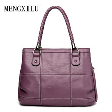 Thread Luxury Handbags Women Bags Designer PU Leather Fashion Shoulder Bag Sac a Main Marque Bolsas Ladies Tote Women Handbags