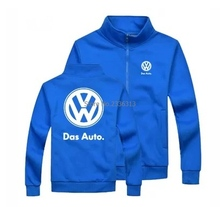 Winter autumn VW Volkswagen sweatshirt 4S shop maintenance after-sale jacket overalls coat