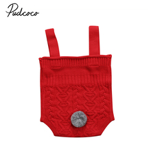 Lovely Baby Boys Girls Romper Soft Knit Sweater Jumpsuit Outfits Clothes Autumn Winter Casual Costume(China)