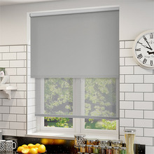 "Waterproof Blackout&Sunscreen Dual Roller Blinds H836-pattern,Priced(1pc,39"" W x 39""L,)finished blinds,Customize Size Colors"
