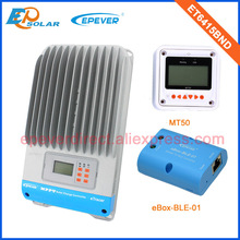 Factory direct supply mppt controller 60A 60amp ET6415BND with white MT50 remote meter and bluetooth box(China)