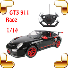 Big Fans Gift 1/14 GT3 911 RC Radio Control Car Motor Electric Machine Toy Fun Drive Vehicle Drift Moving Family Game Big Racer