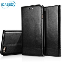 Buy I8 Retro Business Leather Coque iPhone 8 Case Luxury Wallet Flip Cover Phone Cases Apple iPhone8 Etui Capinha Hoesje for $5.88 in AliExpress store