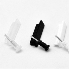 10X 3.5mm Headphone + Charger USB Anti Dust Plug Cap Stopper for iPhone 4 4S Dock Stopper and Earphone Plug(China)