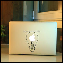 Light Bulb Lamp Laptop Sticker Skin for Apple Macbook Air Pro Retina 11 12 13 15  Vinyl Mac Computer Case Cover Notebook Decal