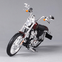 Maisto 1:12 Harley Motorcycle Toy, 2012 XL1200V Seventy-two Alloy & ABS Motor Car Simulation Model, Kids Toys, Brinquedos(China)