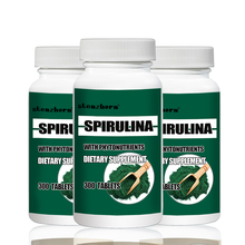 big deal Free shipping  3 Bottles Natural Pollution Organic Spirulina 250mg Total 900PCS(China)
