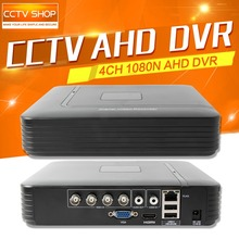 CCTV HD 1080N 720P AHD DVR Mini 4Ch AHD-NH/1080N Or 960H (Analog) Recording Video Recorder Support Multi Language Upto 4TB