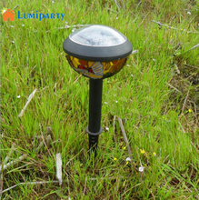 Lumiparty Solar landscape lights Solar Power Butterfly Colored Drawing Lawn Lamp energy-efficient low-maintenance