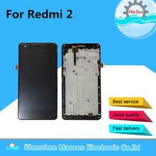 M&Sen For Xiaomi redmi 2 hongmi 2 LCD screen display+touch panel digitizer with frame free shipping