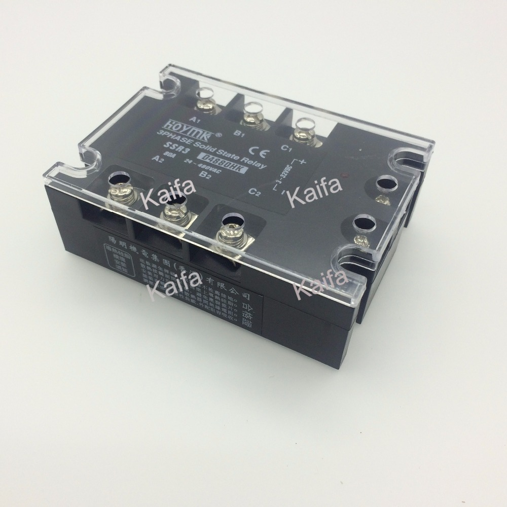 wholesale genuine Solid State Relay SSR3-D4880HK 80A 24-480VAC<br>