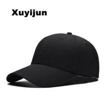 Xuyijun Black Adult Unisex Casual Solid Adjustable Baseball Caps Snapback hats for men baseball cap white men cap dadcap