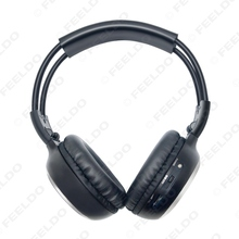 Car DVD Stereo 2 Dual Channel Audio IR Infrared Wireless Music Foldable Earphone Headphone #2447