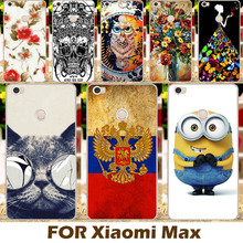 Top Selling Painting design Hard Plastic Case For Xiaomi MAX Mi Max 6.4 inch Cell Phone Cover Protective Sleeve Back Shell
