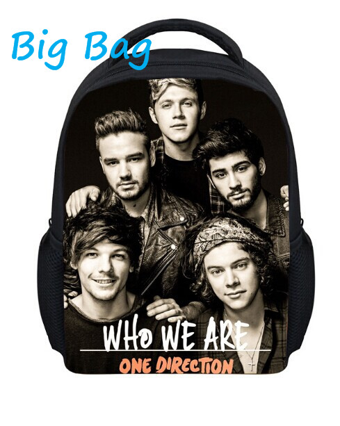 Hot Sell 13 Inch Backpack One Direction Backpack Children Trendy Backpack School Bags For Boys Cute School Backpacks For Child<br><br>Aliexpress
