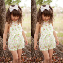 Kids Girls Onesie Toddler Jumpsuit Clothes One piece Romper Shorts Playsuit Enfant Kids Children Girl Clothing 2-7Y