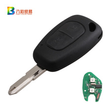 2Buttons Remote Key Entry Transmitter 433MHz Chip PCF7946 For Renault Vivaro Master