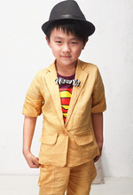 Free shipping!Hot sales Han edition style boy suit (jacket + pants). Children's suit. Children's outfit. Children's clothes