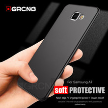 OGRCNB Ultra Thin Matte Silicone Cover Case Samsung Galaxy A5 A3 A7 J5 J7 2015 2016 2017 S5 S6 S7 Edge S8 S9 Plus Soft Case