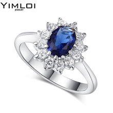 Luxurious Two Tone Ring Rare Shiny Cushion Cut Yellow CZ Stone Jewelry Halo Engagement Rings Wedding Band RB076
