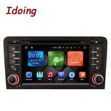 Idoing Android6.0/2G RAM/32G ROM/8Core/2Din For Audi A3 Car DVD Player Multimedia Video Head Device Stereo WiFi 3G TV Fast Boot