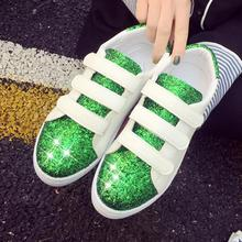 Superstar White Shoes Platform Sneakers Women Walking Footwear 2017 Fashion Sequines Flats Leather Skateboard Woman Sports Shoes