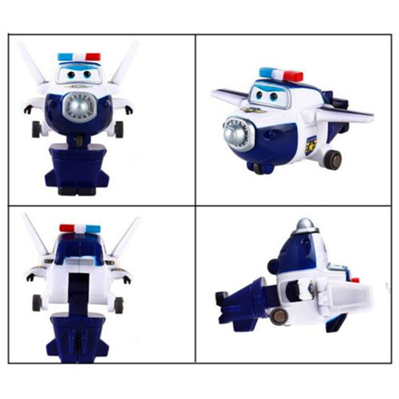 8pcs/set MINI Airplane Anime Super Wings Model toy Transformation Robot Action Figures superwings toys for Children Kids 10