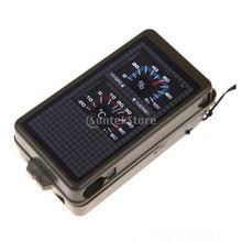Multipurpose Outdoor Military Army Hiking Travel Portable ABS Compass