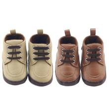 0-1T Toddler Baby Winter Booties Infant Thicken Lace-Up Casual Shoes Prewalkers Children Kids Bebe Sapatos Firstwalker Shoes