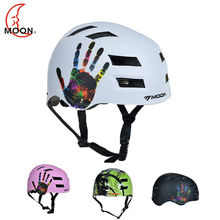 MOON Hot Sale Men Women Adult Safety Ski Helmet Integrally-molded Skating Helmet Skateboard Helmet Snowboard Helmet(China)