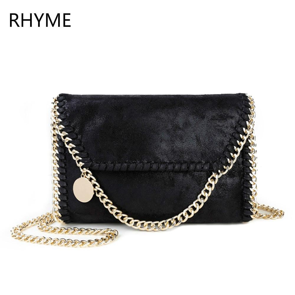 RHYME Crossbody Women Messager Chain Bags PU Shoulder Bag Bolsa Feminina Carteras Mujer Stella Handbags<br><br>Aliexpress