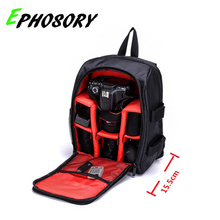 EPHOSORY Drop Shipping Upgrade Digital DSLR Camera Backpack Video Bag Case Waterproof Shockproof for Canon Nikon Photographer(China)