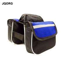JQORG Cycling Bag Frame Fixing Bicycle Bag Cycling Equipment Mountain Bike Bag Polyester Material Prevent Rain Bicycle Parts(China)