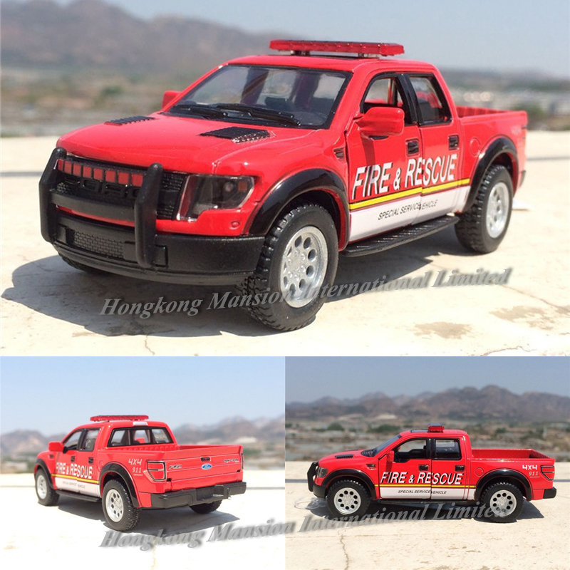 1:46 Scale KT-5365 Ford F150 SVT 2013 Raptor Supercrew Rescue Police