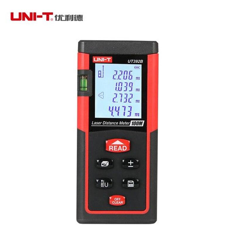 Laser Distance Meter UNI-T UT392B 100M Laser Range finder Digital range finder Measure Area/volume Tool<br>