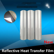 Reflective Heat Transfer Vinyl Iron T-shirt Safety/Reflective Cutting Press Film 50cmx100cm/ 20inchx40inch(China)