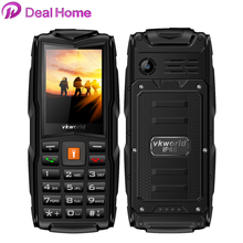 "New Arrival Rugged cellular Phone Stone V3 Vkworld VKV3 big battery Feature Phone 2.4"" GSM Dual Sim 3000mah 2MP With Russia Key(China)"