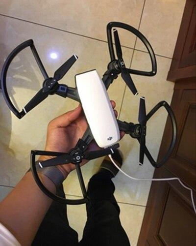 4pcs/set 100% Original DJI Spark Propeller Guard Quadcopter Accessories Part RC Drone Protector Brand New