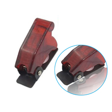 High Quality New 12mm Red Toggle Switch Waterproof Boot Plastic Safety Flip Cover Cap VE436 P0.5(China)