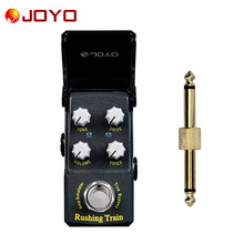 NEW Guitar effect pedal JOYO Rushing TrainVOX Rushing Train Ironman series mini pedal JF-306+ 1 pc pedal connector(China)