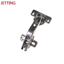 Jetting HOT 135 Degree Corner Folded Cabinet Door Hinges Kitchen Bathroom Cupboard Hinge 2 Holes For Home Tools