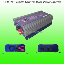 2017 Hot Selling 1500W Three Phase AC45V~90V Input, AC 230V Output SUN-1500G-WAL-48V Grid Tie Wind Power Inverter