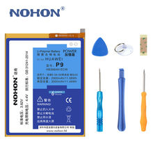 Original NOHON Phone Battery For Huawei P9 G9 G9 Lite Honor 8 5c 2900mAh-3000mAh High Capacity Li-Polymer Batteries HB366481ECW(China)