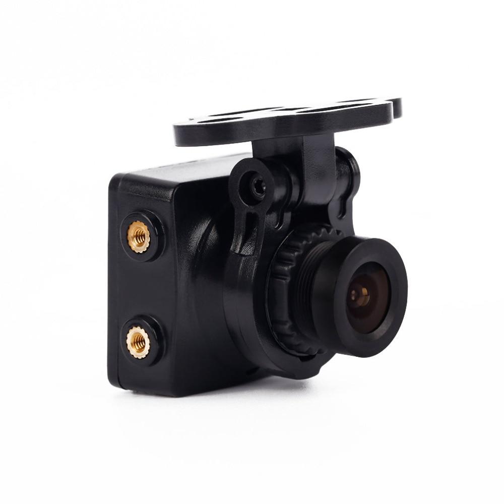 1pcs Black Foxeer Arrow HS1190 FPV NTSC 600TVL 2.8mm CCD Camera Built in OSD &amp; MIC<br>