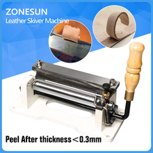"6"" inch Manual leather skiver,handle leather peel tools,DIY shovel skin Machine,leather splitter,vegetable tanned leather peeler"